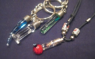 Rice Necklaces / Rice Keychains