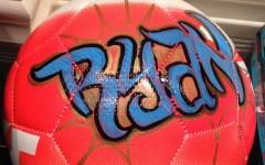 Graffiti soccer balls