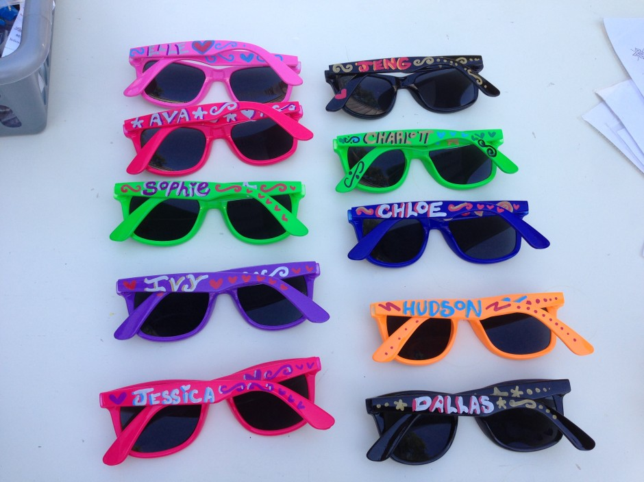 Our personalized sunglasses
